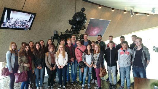 Planetariumsbesuch im Mai 2015