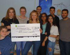 Fritz – Steinhoff Gesamtschule übergibt Spende an Kinderhospiz Sternentreppe