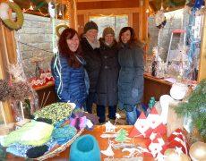 Die Fritz-Steinhoff-Gesamtschule auf dem Boeler Weihnachtsmarkt