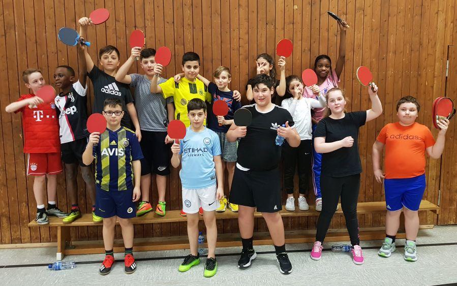 Tischtennis: Spaß und Sport beim Treffen der Talente
