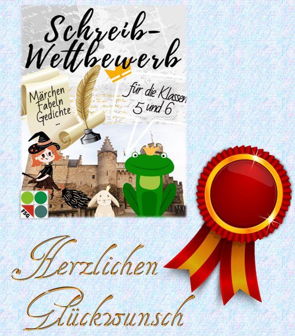 Gewinnertexte des Schreibwettbewerbs  der Jahrgänge 5 und 6